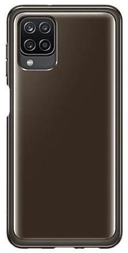 cumpără Husă pentru smartphone Samsung EF-QA125 Soft Clear Cover Black în Chișinău