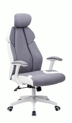 Офисное кресло CR 7029H серое