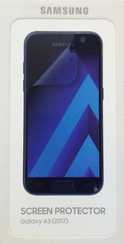 купить Пленка защитная для смартфона Samsung Pelicula p/u Galaxy A3 (2017), Transparent в Кишинёве