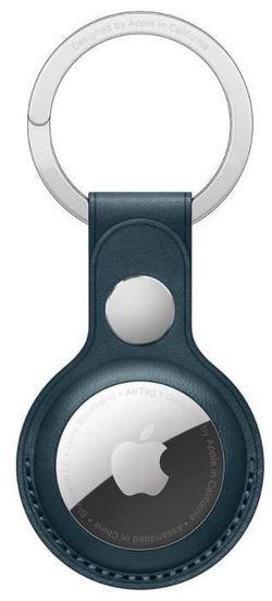 cumpără Accesoriu pentru aparat mobil Apple AirTag Leather Key Ring Baltic Blue MHJ23 în Chișinău