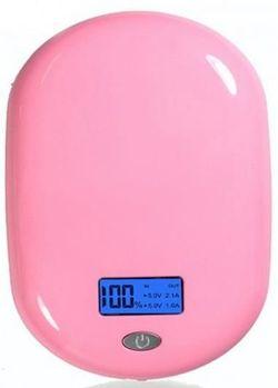 купить Аккумулятор внешний USB (Powerbank) Pineng PNW-938 Pink, 10000 mAh в Кишинёве