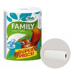 Полотенца бумажные TENTO Family 2 слоя 60м