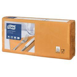 Столовые салфетки, 2str, 33x33, 200шт, оранжевый, Advanced