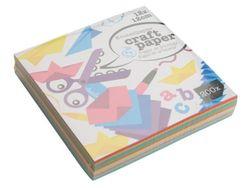 Набор цветной бумаги 12Х12cm, 200листов