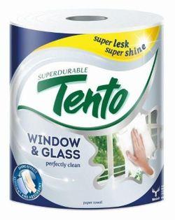 Prosoape hârtie TENTO Window&Glass 2 str. 65m