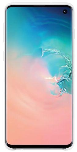 купить Чехол для моб.устройства Samsung EF-PG973 Silicon Cover S10 White в Кишинёве