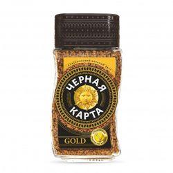 Кофе Черная Карта Gold 190гр