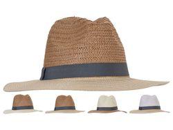 Шляпа летняя мужская 34cm, 4 дизайна
