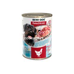Bewi Dog с куриными сердечками 400 gr