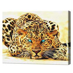 Картина по номерам 40х50см Взгляд хищника
