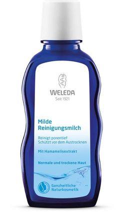 Мягкое очищающее молочко для лица, шеи и декольте Weleda 100 мл