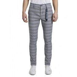 Pantaloni TOM TAILOR Gri in carouri 1016990 tom tailor