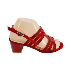Sandale Dame cu toc (36-40) rosu /8