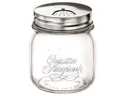 Borcan Q.S.Genietti 0.25l cu capac pentru sare si condimente