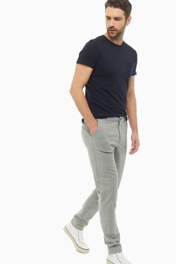 Pantaloni TOM TAILOR Gri deschis 1018657 10784