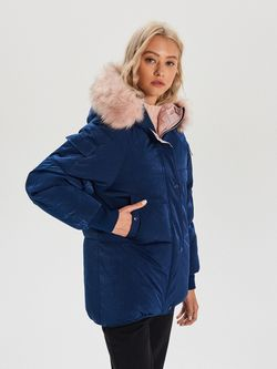 Куртка CROPP Темно синий