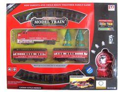 Set calea ferata 86cm, locomotiva+vagoane de pasageri R/C