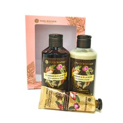 LES PLAISIRS NATURE - Set îngrijirea corpului Argan & Trandafir Bio din Maroc