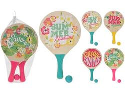Набор детский для тениса: 2 ракетки с короткой ручкой +мяч,