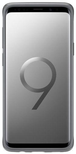 cumpără Husă telefon Samsung EF-RG965, Galaxy S9+, Protective Stadning, Silver în Chișinău