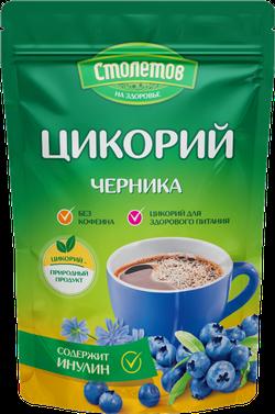 Stoletov Цикорий с черникой 100гр