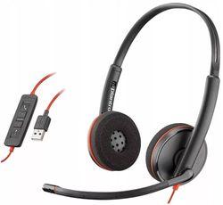 cumpără Cască cu microfon Plantronics BLACKWIRE C3220 USB-A (PLC00230) în Chișinău