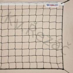 Сетка для волейбола с тросом 9.5x1 м nr. 097 black (2668)