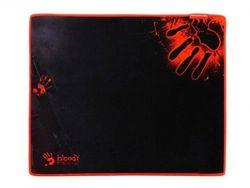 Коврик для игровой мыши Bloody B-080S, 430 x 350 x 2 мм, ткань / резина, нескользящая строчка, черный / красный