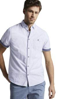 Рубашка TOM TAILOR Светло голубой 1018371 tom tailor