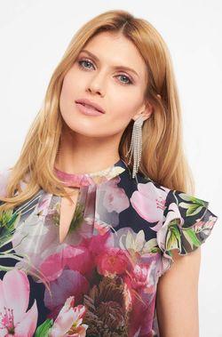 Блуза ORSAY Цветочный принт 605124