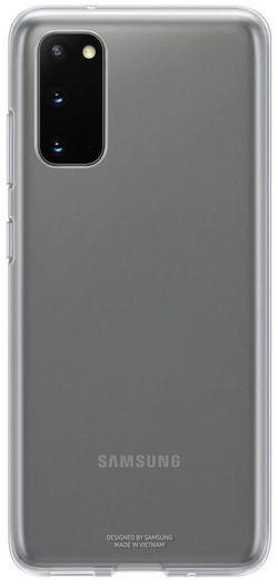 купить Чехол для моб.устройства Samsung EF-QG980 Clear Cover Transparent в Кишинёве