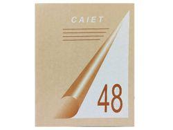 Caiet 48foi patrat