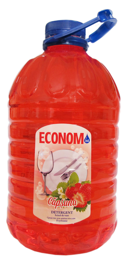 Detergent pentru vase ECONOM  căpșună