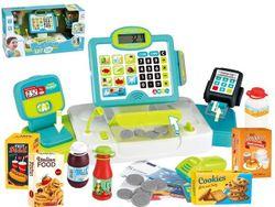 Set casier cu acessorii Happy cashier verde