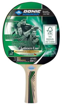 Paleta tenis de masa Donic Legends 400 FSC 705241, 1.6 mm, FSC-wood (3196)