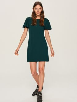 Платье RESERVED Темно зеленый tq048-67x