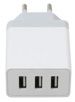 купить Зарядное устройство сетевое Platinet PLCU33AW (44754) в Кишинёве