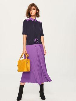 Платье RESERVED Фиолетовый ut597-45x