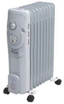 Calorifer electric cu ulei Hausberg HB-8900 White