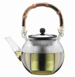купить Чайник заварочный Bodum 11806-139 Assam Bamboo 1L в Кишинёве