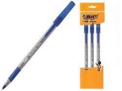 Набор ручек шариковых BIC Round Stic Exact 3шт, синих