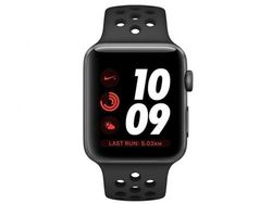 Smartwatch Apple Watch Series 3 42mm (MTF42 GPS) Black Nike Sport Band