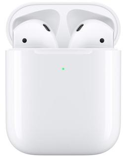 cumpără Cască fără fir Apple AirPods 2 with Wireless Charging Case White (MRXJ2) în Chișinău