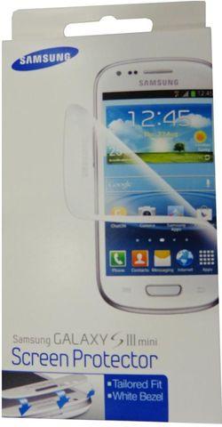купить Пленка защитная для смартфона Samsung Pelicula p-u Galaxy S3 mini (ETC-G1M7WEGSTD) в Кишинёве