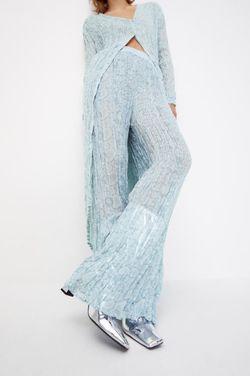 Pantaloni ZARA Gri cu imprimeu 7521/067/403.