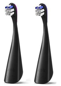 купить Аксессуар для зубных щеток Jetpik JP300 2 Pack, Sensetive, black в Кишинёве