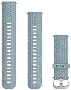 cumpără Accesoriu pentru aparat mobil Garmin Quick Release Bands (20 mm) Sea Foam with Silver Hardware în Chișinău