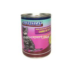 Nutritcat говядина 415 gr