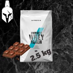 Сывороточный протеин (Impact Whey Protein) - Натуральный шоколад - 2.5 KG