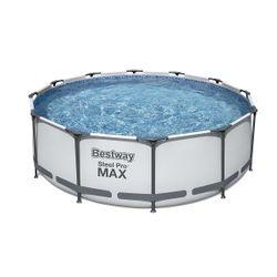 Pool Steel Pro Max 366x100cm, 9150L, cadru metalic